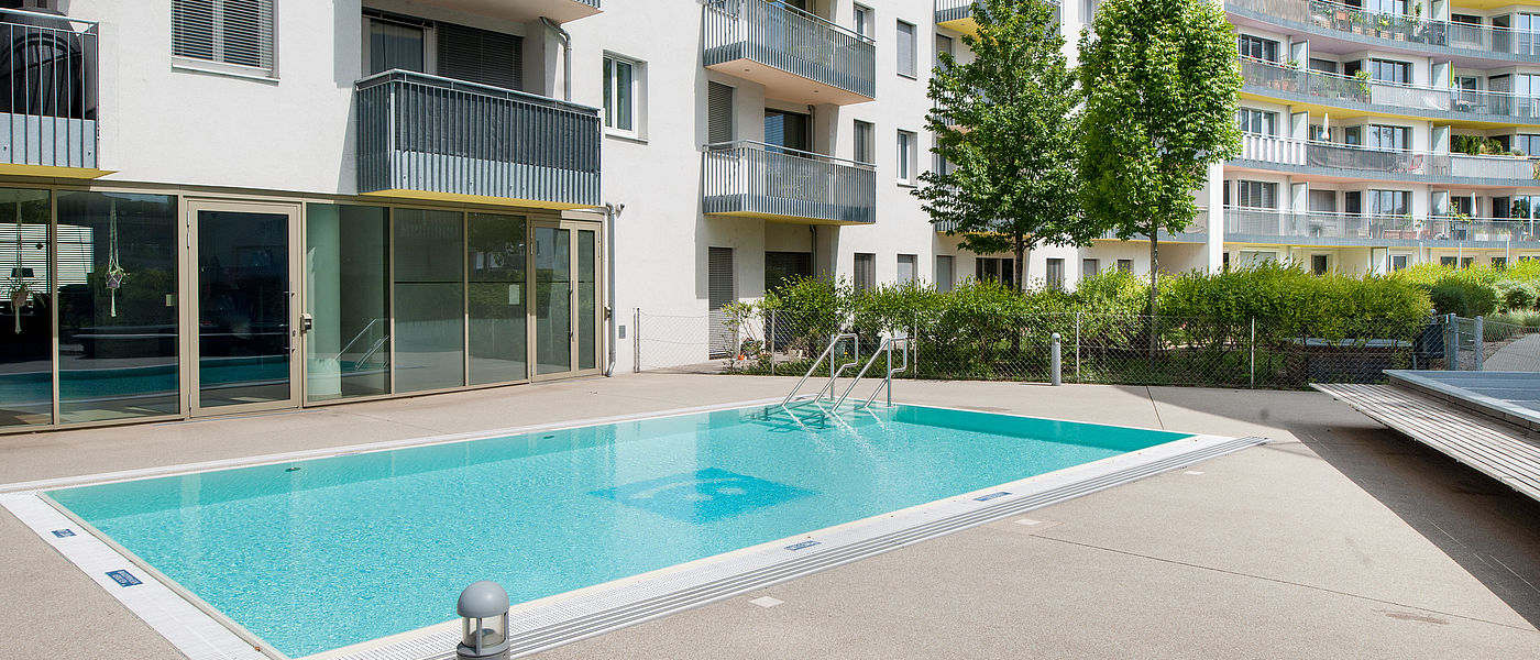 Rental apartments with pool